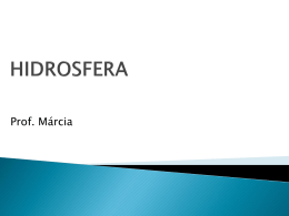 hidrosfera - Colégio Energia Barreiros