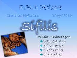 Sifilis - Sem Preconceitos