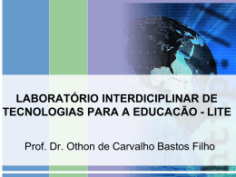 laboratório interdiciplinar de tecnologias educacionais