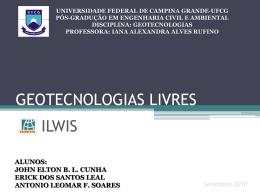 geotecnologias livres - Universidade Federal de Campina Grande