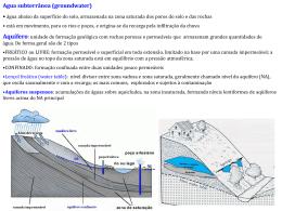 AGM5724_Aula_5_CicloHidrologico_2015_part 3 agua subteranea
