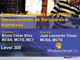 Windows Server 2008 – Gerenciando Impressao