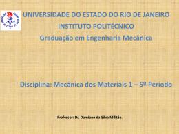 Tema 2 Deformação - PROFESSOR DAMIANO