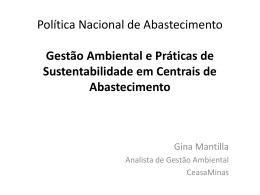 Gestão Ambiental e Práticas de Sustentabilidade em Centrais de