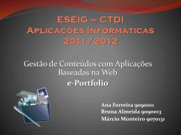 Aplicações Informáticas - ai1112-g3 - home
