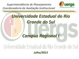 Região VII - Avaliação Institucional