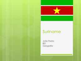 Suriname - WordPress.com