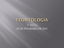TEONTOLOGIA
