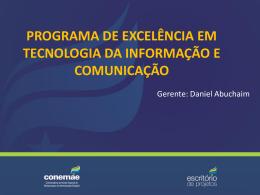 Apresentação – Programa TIC