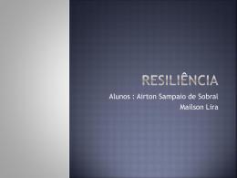 Introdução – Conceito de Resiliência