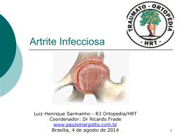 Artrite Infecciosa - Paulo Roberto Margotto