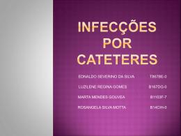 infec-º-úo por cateteres - Enfermagem