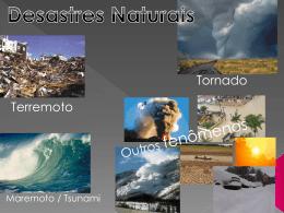 Apresentação Power Point Desastres Naturais