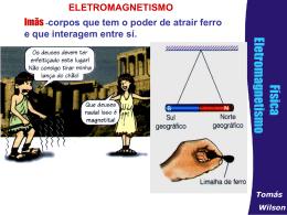 Eletromagnetismo e Força magnética (Baixe Aqui!)