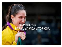 CONSELHOS PARA UMA VIDA VITORIOSA