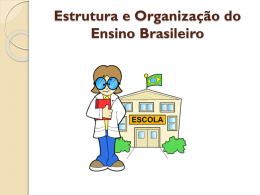 Slides sobre organização do ensino
