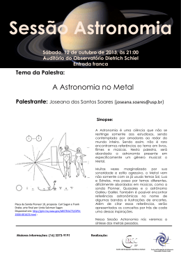 Astronomia no Metal