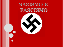 nazismo e fascimo