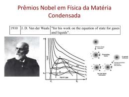 Prêmios Nobel em Física da Matéria Condensada