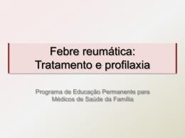 Febre reumática trat