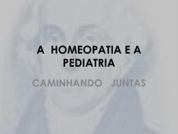 a homeopatia e a pediatria