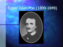 Edgar Allan Poe (1809