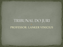 Tribunal do Juri