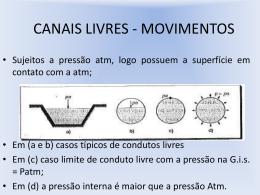 canais livres – movimentos