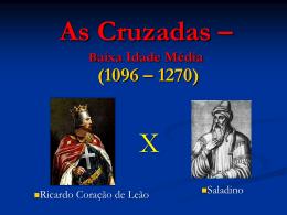 AS CRUZADAS - PArte I.