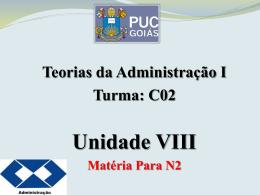 Unidade VIII - Estruturalista