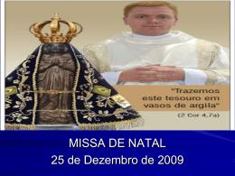 Missa de natal 2009