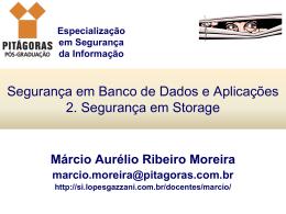 2. Segurança em Storage