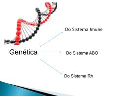 Genética do Sistema Imune