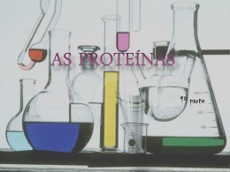 Proteínas - Prof Iva