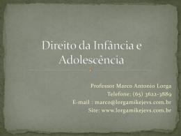 Direito da Infância e Adolescência
