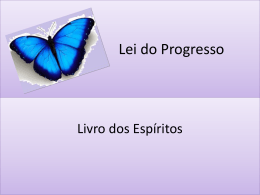 Lei do Progresso