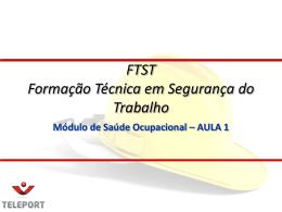 FTST Saúde de Ocupac..