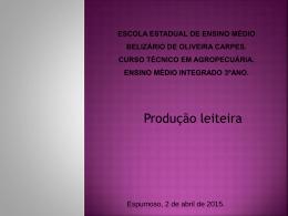 alex - Tec. em Agropecuária:Belizário de Oliveira Carpes