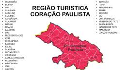 região turística coração paulista