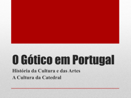 O Gótico em Portugal