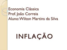 Inflação – Economia Clássica