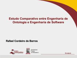 P08: Uma Comparação entre Engenharia de Ontologia e