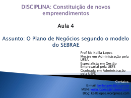Slide 1 - Keilla Lopes