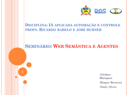 Ontologia - Departamento de Automação e Sistemas