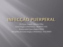 INFECÇÃO PUERPERAL