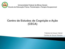 Universidade Federal de Minas Gerais Escola de Educação
