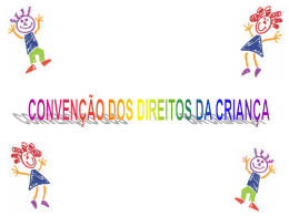 convenção dos direitos da criança