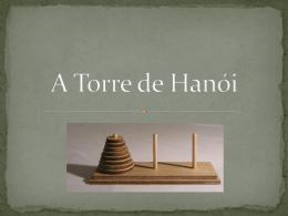 A Torre de Hanói