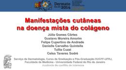 Manifestações cutâneas na doença mista do colágeno