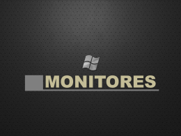 MONITORES - WordPress.com